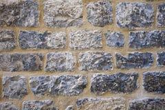装饰石头表面工作 免版税库存照片
