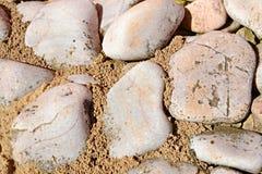 装饰石头 免版税库存照片