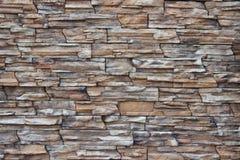 装饰石头砖 库存图片