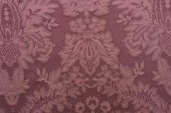 装饰织品模式红色 免版税库存照片