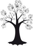 装饰结构树 库存例证