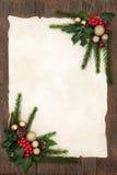 装饰背景的圣诞节 免版税库存图片