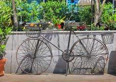 装饰自行车 库存图片