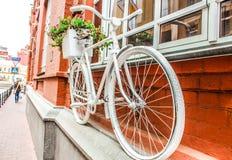 装饰自行车 免版税图库摄影