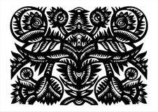 装饰花卉模式 免版税库存图片