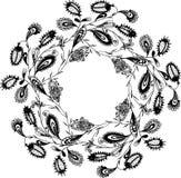装饰花卉花圈 库存照片