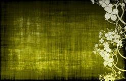 装饰花卉grunge 免版税图库摄影