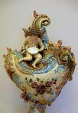 装饰花瓶, 19世纪的上一季度 库存照片