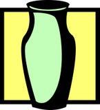 装饰花瓶 免版税图库摄影