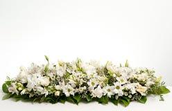 装饰花表白色 免版税库存图片