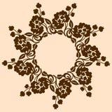 装饰葡萄酒设计 免版税库存图片