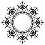 装饰葡萄酒边界框架 免版税图库摄影