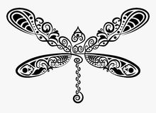 装饰蜻蜓 免版税库存照片