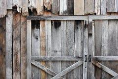 装饰被风化的木头 图库摄影