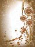 装饰装饰品的电灯泡圣诞节 库存例证