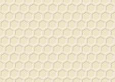 装饰装饰品的蜂蜜 库存例证
