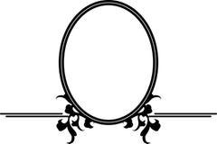 装饰装饰框架 免版税库存照片