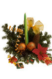 装饰装饰欢乐花卉表 免版税库存照片