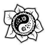 装饰设计向日葵 免版税图库摄影