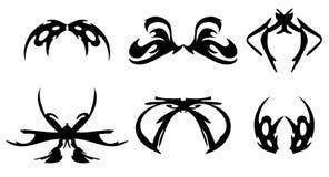 装饰设计纹身花刺 免版税库存图片