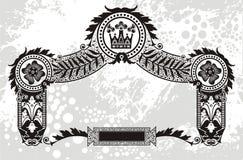装饰设计 皇族释放例证
