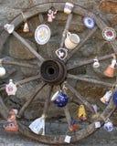 装饰轮子 免版税库存照片