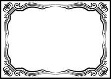 装饰边界 免版税图库摄影