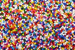 装饰酥皮点心分布的糖 免版税库存图片