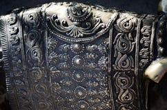 装饰金属细节 库存图片