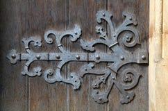 装饰门折页 库存照片