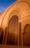 装饰门清真寺 库存照片