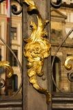 装饰门的 免版税库存照片