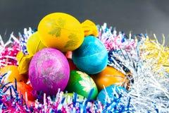 装饰鸡蛋传统方式  图库摄影
