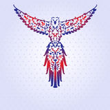装饰鹦鹉 免版税库存照片