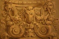 装饰绘画在罗马 免版税图库摄影