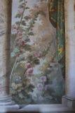 装饰绘画在罗马 免版税库存照片