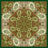 装饰围巾样式 免版税库存照片