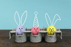 装饰&标志愉快的复活节假日背景概念 库存图片