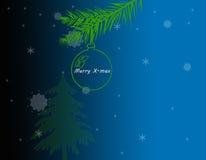 装饰cristmas背景 库存图片