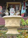 装饰frankenstein万圣节 免版税库存照片