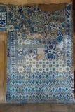装饰Rustem巴夏清真寺的内部马赛克 库存照片