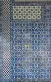 装饰Rustem巴夏清真寺的内部马赛克 免版税库存图片