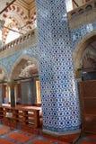 装饰Rustem巴夏清真寺的马赛克 图库摄影