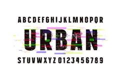 装饰Sans Serif字体 图库摄影
