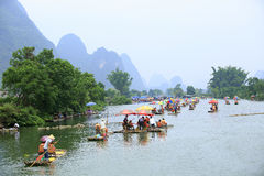 裕隆河 免版税图库摄影