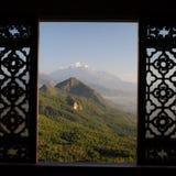 裕隆雪山 库存图片