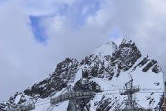 裕隆(玉龙) Snowmountain,丽江,云南,中国 库存照片