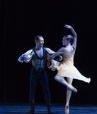 裙子古典芭蕾` Austen汇集`的自转 图库摄影