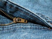 裤子拉链 库存照片