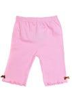 裤子粉红色 库存照片